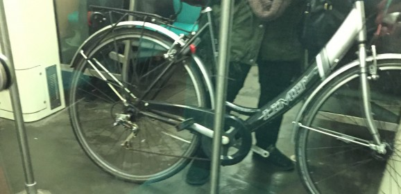 Totale verwarring om fiets in metro (update)
